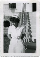 Nurse, Pownal State School, ca. 1945