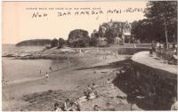 Bathing Beach and Shore Club, Bar Harbor, ca. 1940