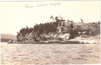 Bear island Light, Northeast Harbor, ca. 1930