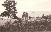 Champlain Monument, Seal Harbor, ca. 1930