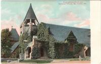 Congregational Church and Episcopal Church, Bar Harbor ca. 1910