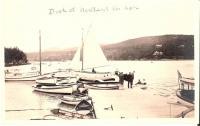 Dock at Northeast Harbor, ca. 1903