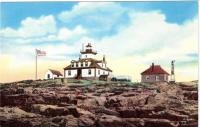 Egg Rock Light, Bar Harbor, ca. 1930
