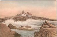 Egg Rock Light, Bar Harbor, ca. 1900