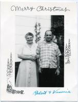 Robert and Vinnie Hoffman, Kennebunk, ca. 1960