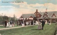 Swimming Pool Club, Bar Harbor, ca. 1905