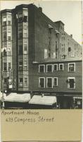 Apartment House, 633 Congress St., ca. 1930