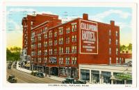 Columbia Hotel, Portland, ca. 1937