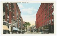 Columbia and Lafayette Hotels, Portland, ca. 1925