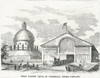Great Eastern Depot, Portland, ca. 1860
