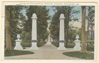 Class of 1875 Gateway, Brunswick, ca. 1929