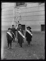 Health parade, Presumpscot School, Portland, 1924