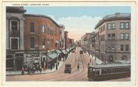 Lisbon Street, Lewiston, ca. 1920