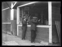 Shooting game, Riverton Park, Portland, 1924