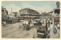 The Square, York Beach, ca. 1912