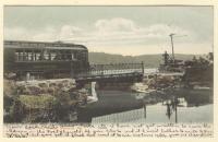 Upper Dam Bridge, Winthrop, ca. 1906
