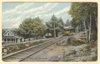 Big Pine Point, Lake Maranacook, Winthrop, ca. 1908
