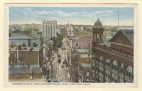 Congress Street, from Congress Square Hotel, Portland, ca. 1920