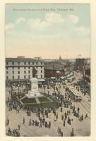 Monument Square on a Busy Day, Portland, ca. 1916