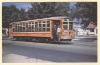 Car #4387, Eastern Massachusetts Street Railway, 1946