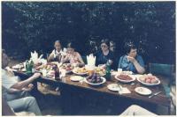 Samantha Smith at collective farm, 1983