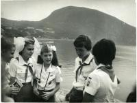 Samantha Smith at Artek Camp, Soviet Union, 1983