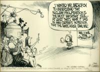 Summers cartoon on Samantha Smith, 1983