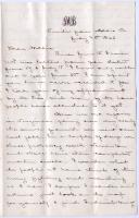 J.M. Brown letter from Aldie, Va., 1863
