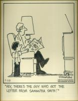 Dunagin Samantha Smith cartoon, 1983