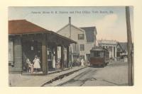 Atlantic Shore R.R. Station, York Beach, ca. 1912