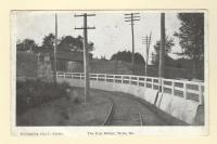 The Iron Bridge, Wells, ca. 1907