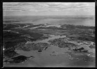 Aerial view, Vinalhaven, ca. 1930