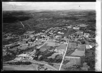 Aerial view, Lincolnville Center, ca. 1930