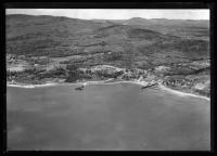 Aerial view of Lincolnville, ca. 1930