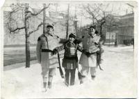 Montagnard Snowshoe Club members, Lewiston, ca. 1930