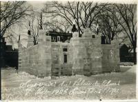 Ice palace, Lewiston, 1925