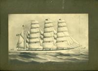 Barque 'Dirigo,' Bath, ca. 1906
