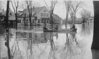 Flood, Saco, 1936