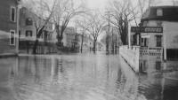 Flood, Storer Street, Saco, 1936