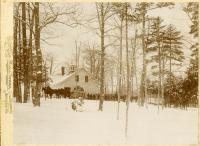 Upper barn, Poland Spring Resort, 1894