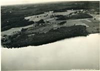 Aerial view, Poland Spring resort, ca. 1930