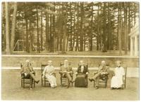 Ricker siblings, Poland Spring, 1926