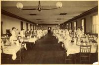 Dining room, Poland Spring, ca. 1910