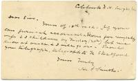 Request for accommodations, New Hampshire, 1882