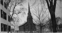 First Parish Congregational Church, Saco, ca. 1896