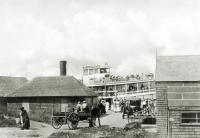 Bailey Island ferry, ca. 1910