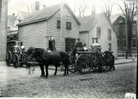 Biddeford Fire Engines, 1908