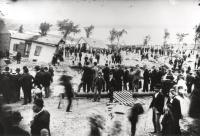 Munjoy Hill Reservoir breach, Portland, 1893