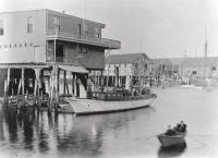 Portland Yacht Club, Merchant's Wharf, ca. 1910