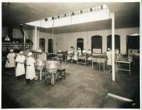 Kitchen, Pownal State School, ca. 1938